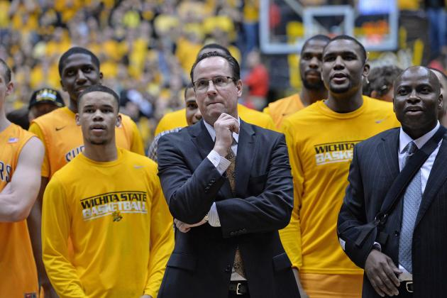 Kansas' Self Thinks Wichita St. Is No. 1 Seed