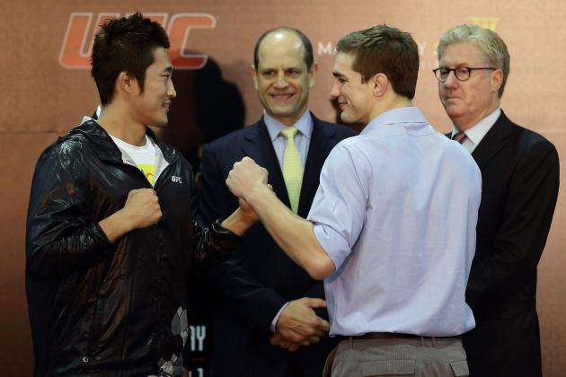 TUF China Finale: Weigh-In Results and Updates