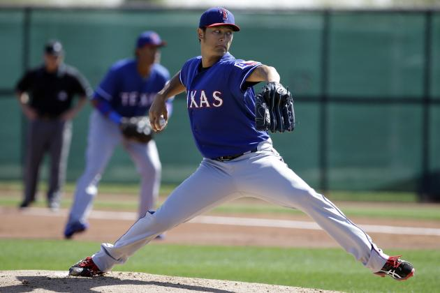 Darvish Strikes out 4 in 2 Scoreless Innings