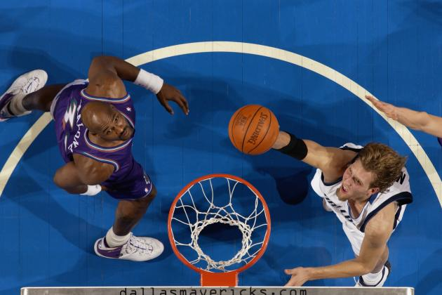Dirk Nowitzki Was in Pain on Wednesday Because Karl Malone Injured Him in 1999