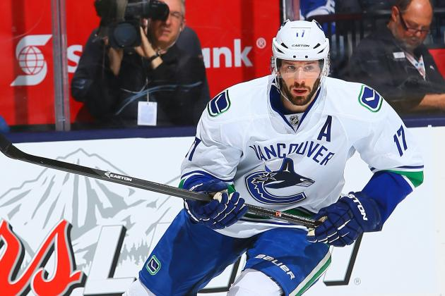 Kesler: Rumor I Asked for Trade Are 'Completely False'