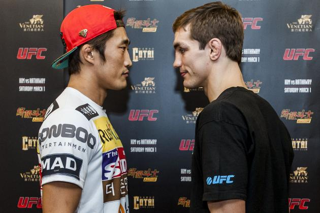 Ultimate Fighter China Finale: Kim vs. Hathaway Fight Card, Live Stream and More
