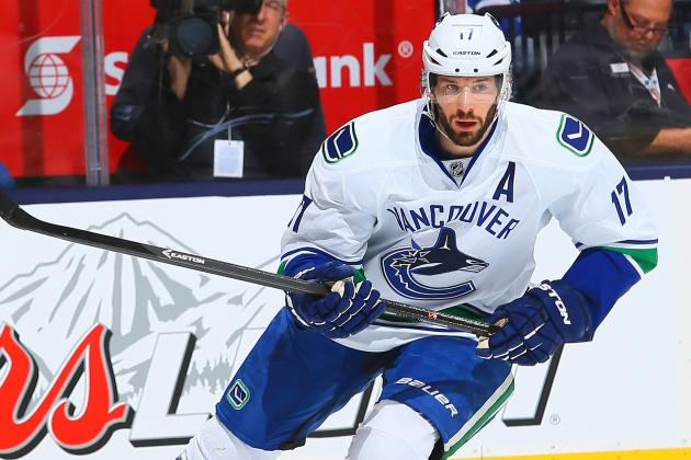 Kesler Calls Reported Trade Request 'Completely False'
