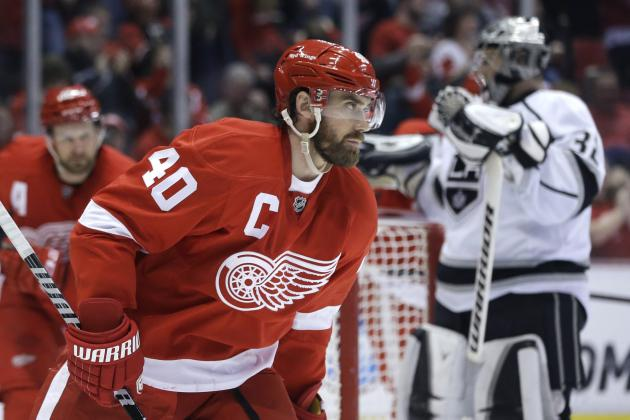 Detroit Red Wings' Blueprint to Make the Playoffs Without Henrik Zetterberg