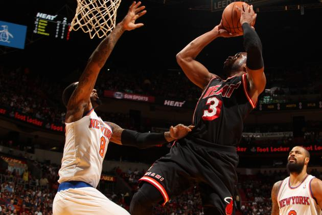 Video: D-Wade Euro-Steps for Layup