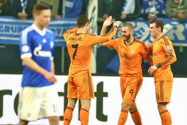 Schalke 1-6 Real Madrid: Keller's Woeful Tactics Play into Hands of CR7, Bale