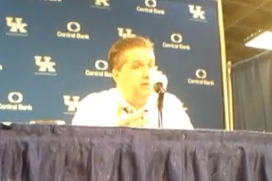 John Calipari Post-Game Press Conference by Courier-Journal