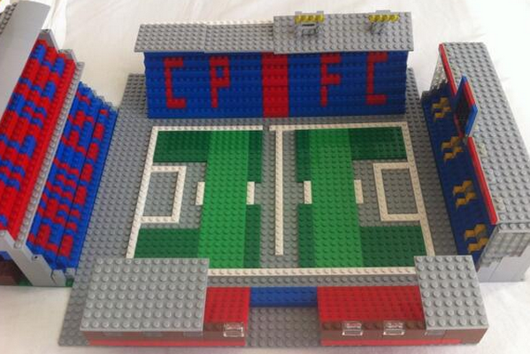 An Awesome Lego Replica of Crystal Palace's Selhurst Park [Picture]