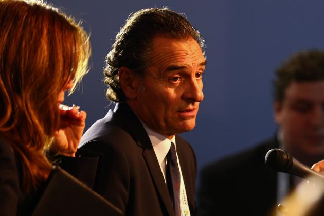 Prandelli to Go Strong Against Spain