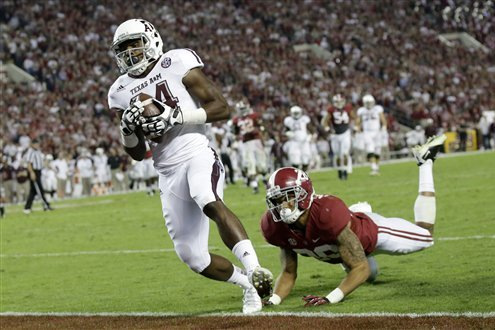 Texas A&M Football: Who Steps Up at WR with Mike Evans Gone?