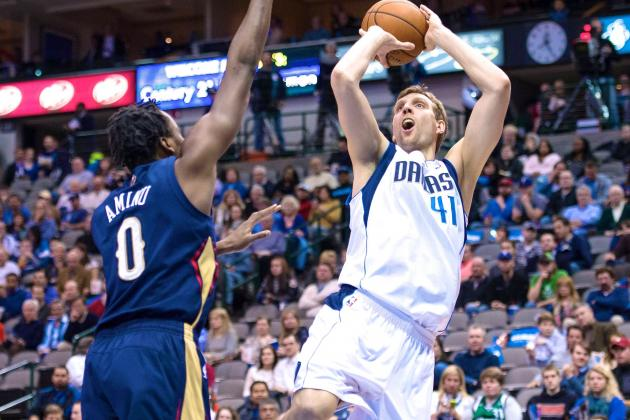 New-Look Dallas Mavericks Bringing Back Vintage Dirk Nowitzki