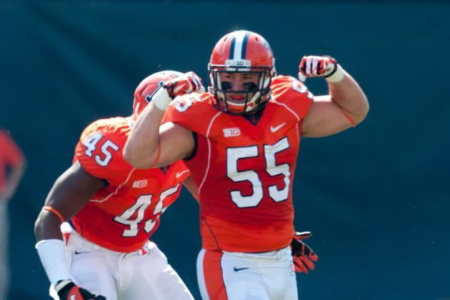 Illini Losing Starting LB Houston Bates to Transfer