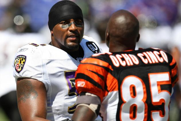 Chad Johnson Recalls Wanting to Fight Ray Lewis After Game for Huge Hit