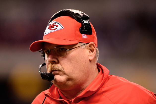 Andy Reid Just Fine with Assisting, Not Leading, the Chiefs' Draft Process