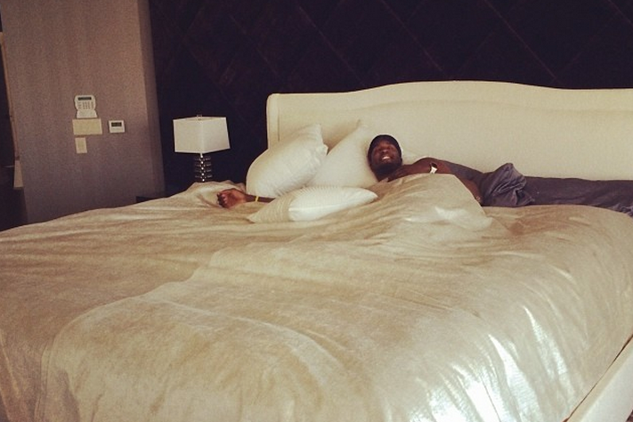 Roy Hibbert Gets a Massive Bed to Fit His 7-Foot Body
