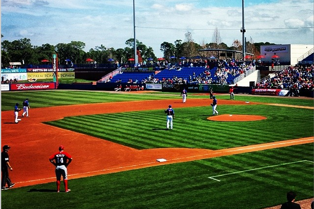 Instagram: 1st Mets Spring Game Looks Majestic