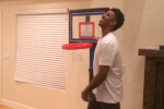 Nick Young, Gilbert Arenas' Amazing Fisher Price Shootout