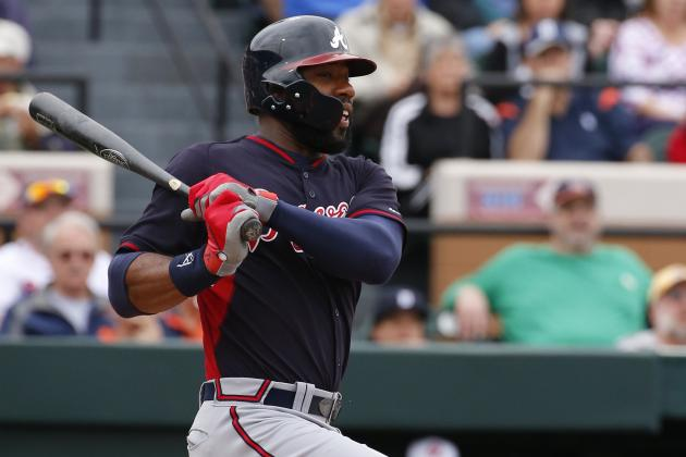 Heyward Gives Early Glimpse of Power vs. Lefties