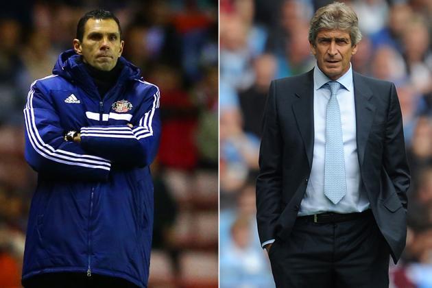 How Manchester City Will Line Up Against Sunderland