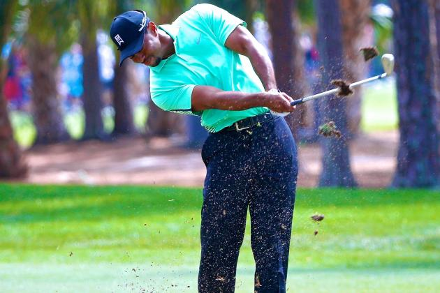 Tiger Woods at the Honda Classic 2014: Day 2 Score, Highlights and Analysis