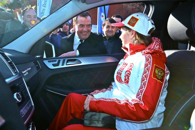 In Russia, Earning an Olympic Medal at Sochi Means a Mercedes and Pile of Cash