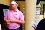 Roger Clemens Double-Fisting Beers at Honda Classic