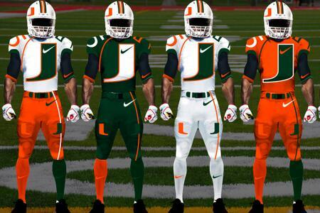 College Football Jerseys Redesigned by Mr. Design Junkie