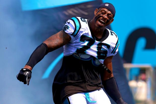 Greg Hardy Officially Receives Franchise Tag from Carolina Panthers
