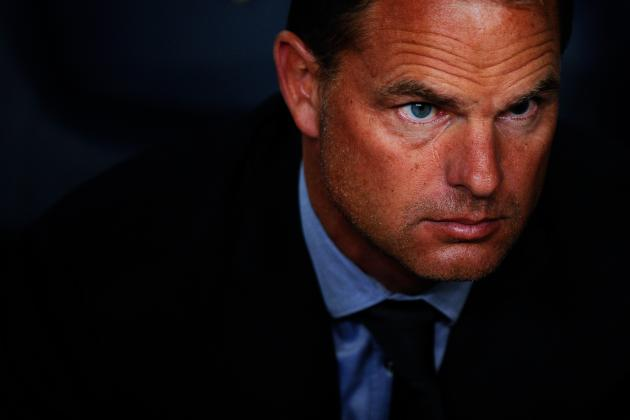 De Boer Outburst an Indication of Summer Exit?