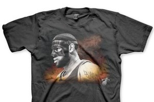 LeBron James' Mask Now Has Its Own T-Shirt
