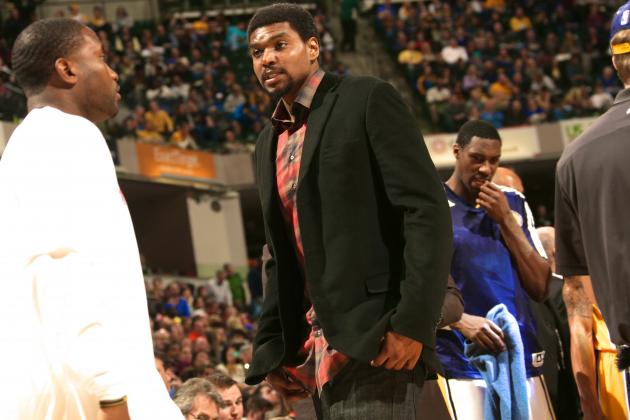 Andrew Bynum Participates in 3-on-3 Drills, Timeline for Return Still Uncertain