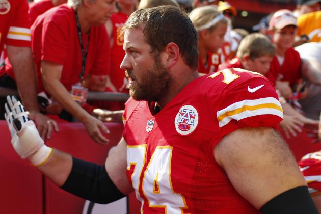 Chiefs Meet with Guard Geoff Schwartz''s Agent During Combine