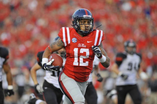 New York Jets: Mississippi's Donte Moncrief Could Be Draft-Day Steal
