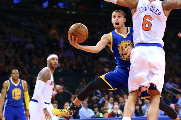 Golden State Warriors vs. New York Knicks: Live Score and Analysis