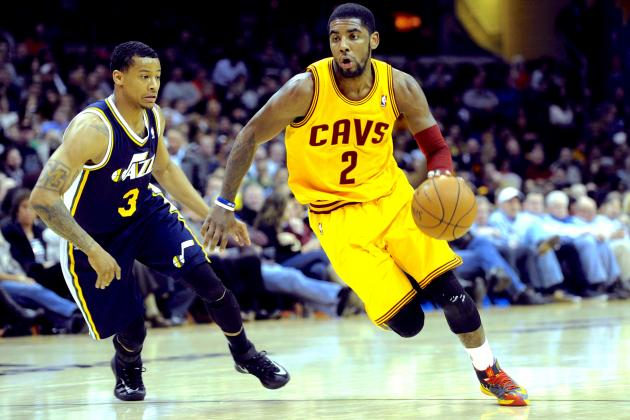 Kyrie Irving Records 1st Career Triple-Double vs. Jazz