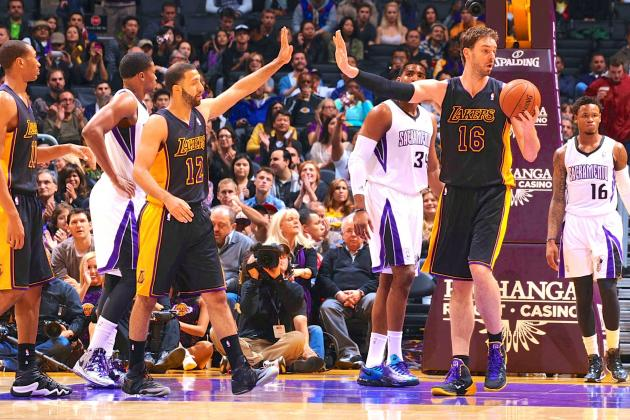 Sacramento Kings vs. Los Angeles Lakers: Live Score and Analysis