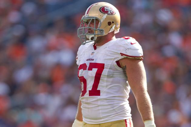 San Francisco 49ers: Will Daniel Kilgore Start at Center in 2014?