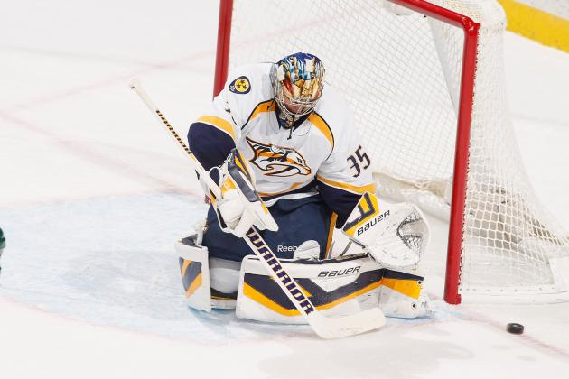Rinne Cruises to Win in First Game of AHL Conditioning Stint