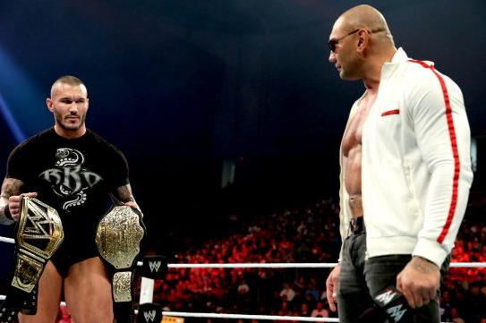 WWE Changing Randy Orton vs. Dave Batista Match at WrestleMania XXX Soon?