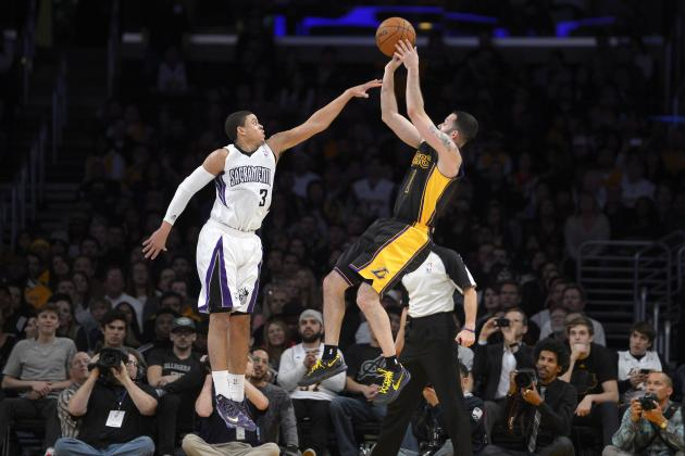 LA Lakers Hit Franchise-Record 19 Three-Pointers in Win over Sacramento Kings