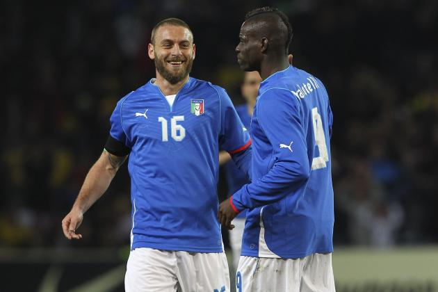Italy World Cup Roster 2014: Full 30-Man Squad and Starting 11 Projections