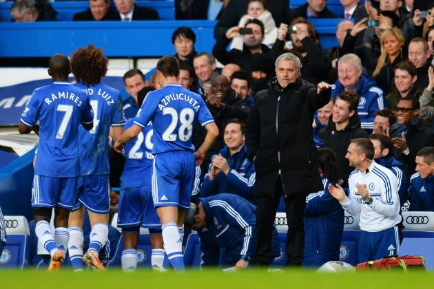 Fulham vs. Chelsea: Live Player Ratings for Jose Mourinho's Blues