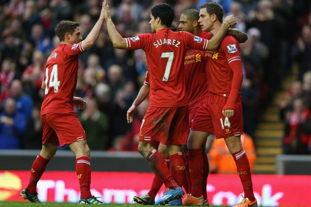 Southampton vs. Liverpool: Live Player Ratings for Both Teams