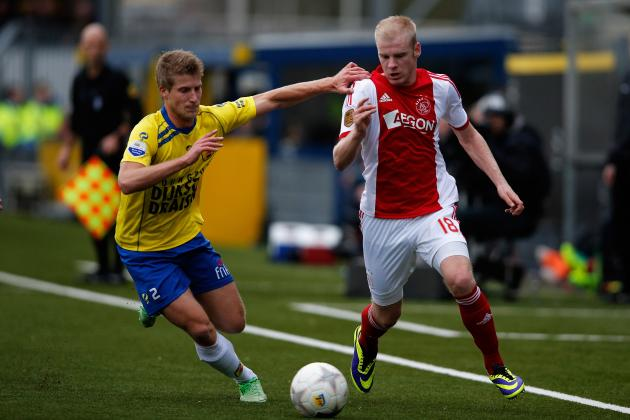 Ajax's Davy Klaassen Earns First Netherlands Call-Up