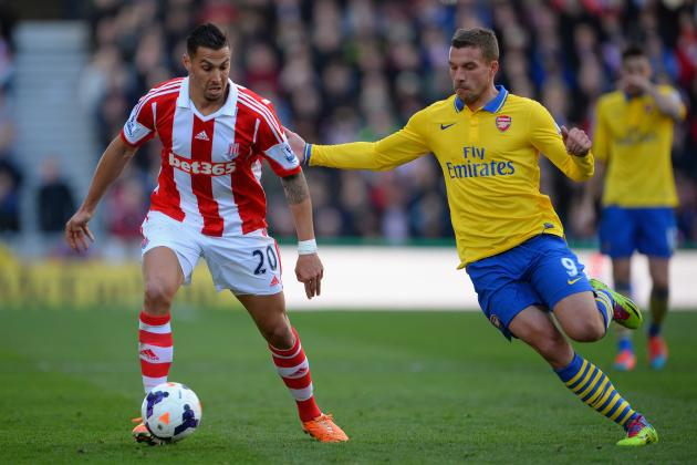 Stoke City vs. Arsenal: Live Player Ratings