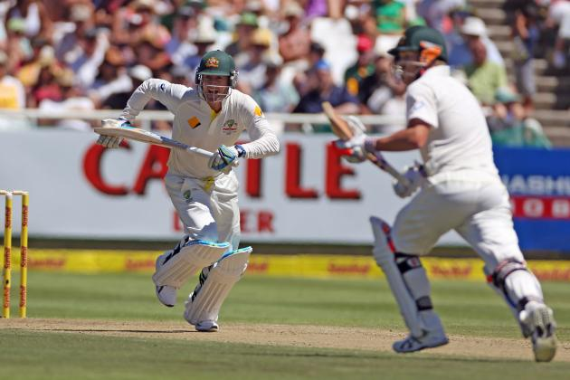 South Africa vs. Australia Cricket 2014: Top Performers on Day 1 of 3rd Test