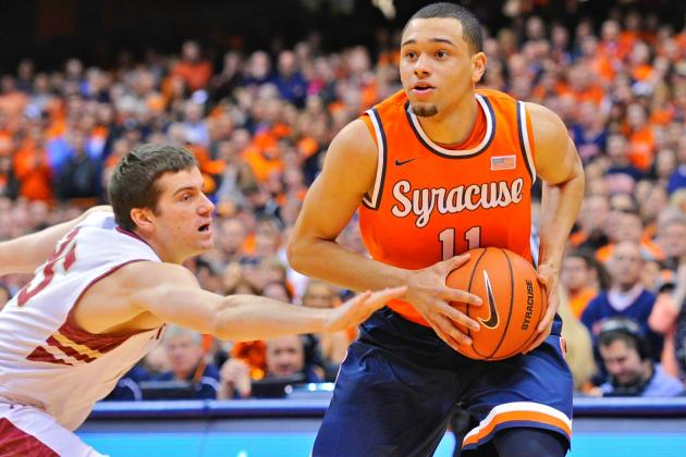 Syracuse in Great Hands with Cool Freshman Tyler Ennis at the Controls