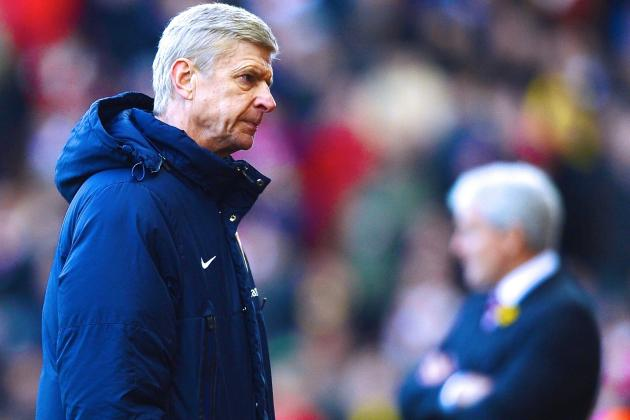 Faltering Arsenal's Title Bid Suffers Huge Blow at Stoke