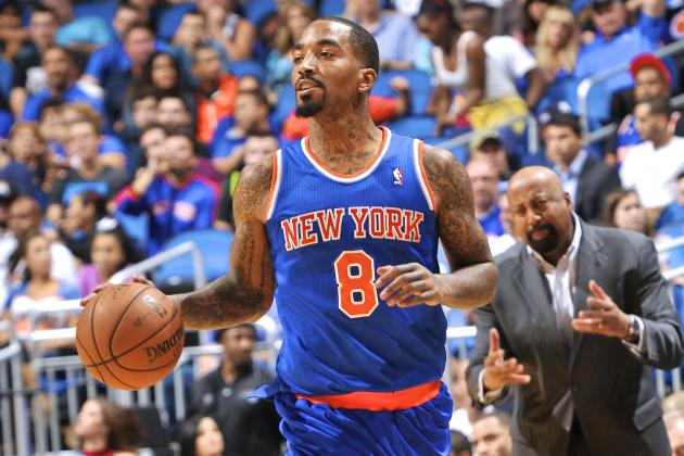 JR Smith Calls Kettle Black, Says NY Knicks Lack Heart, Effort