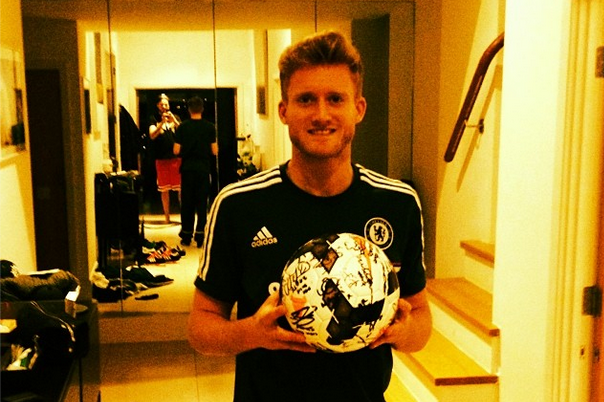 Instagram: Schurrle Shows off Signed Hat Trick Ball